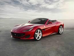 Ferrari Portofino red