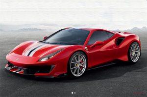 Ferrari Pista red  The Ferrari Pista Unveiled Ferrari pista 300x199