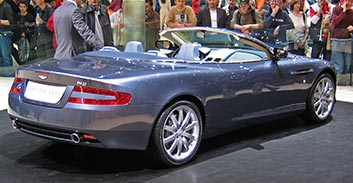 Hire the Aston Martin DB9 Volante in Spain