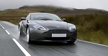 Aston Martin Vantage Rental in Spain