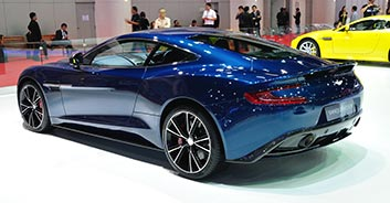 Hire the Aston Martin Vanquish in Spain