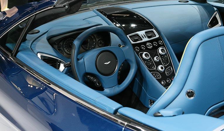 Aston Martin Vanquish Hire Luxury Car Hire