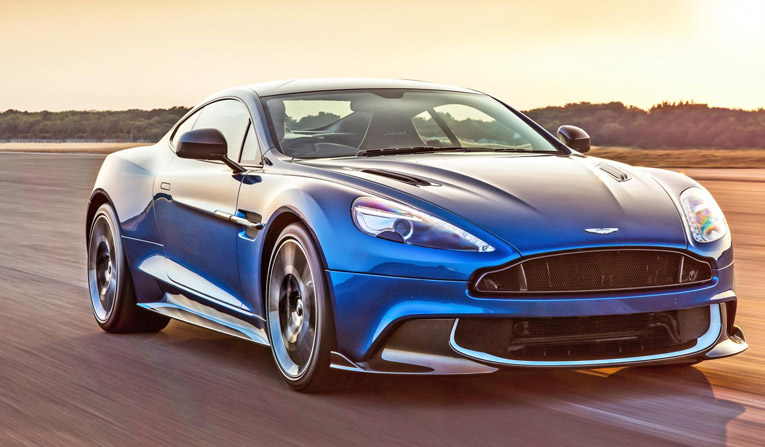 Hire the Aston Martin Vanquish S