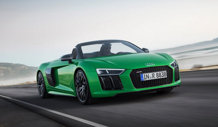 Audi R8 Spyder Rental in France