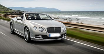 Rent the Bentley Continental GTC in Portugal
