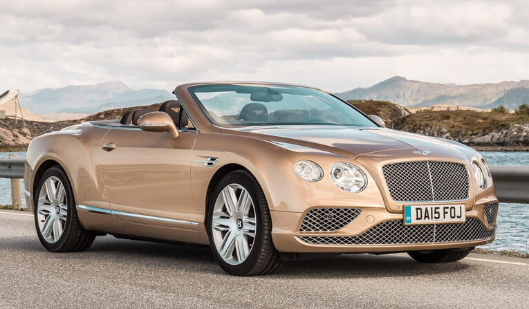 Bentley Continental GTC in Belgium