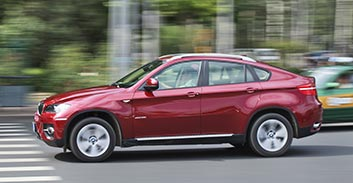 BMW X6 Hire in France