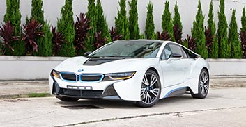BMW i8 Hire in Austria