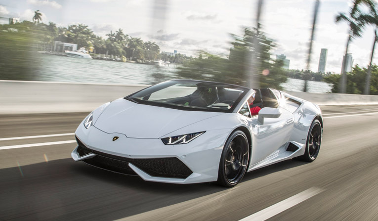 Lamborghini Huracan Spyder Rental in Germany