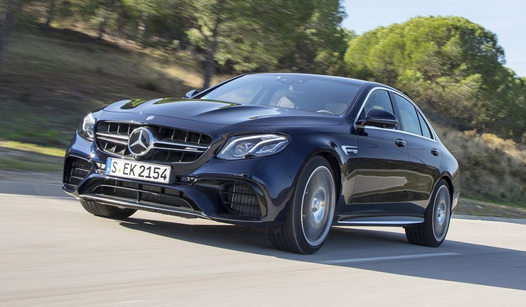 Mercedes E63 AMG Hire in France