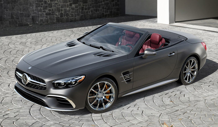 Mercedes SL Hire in Austria