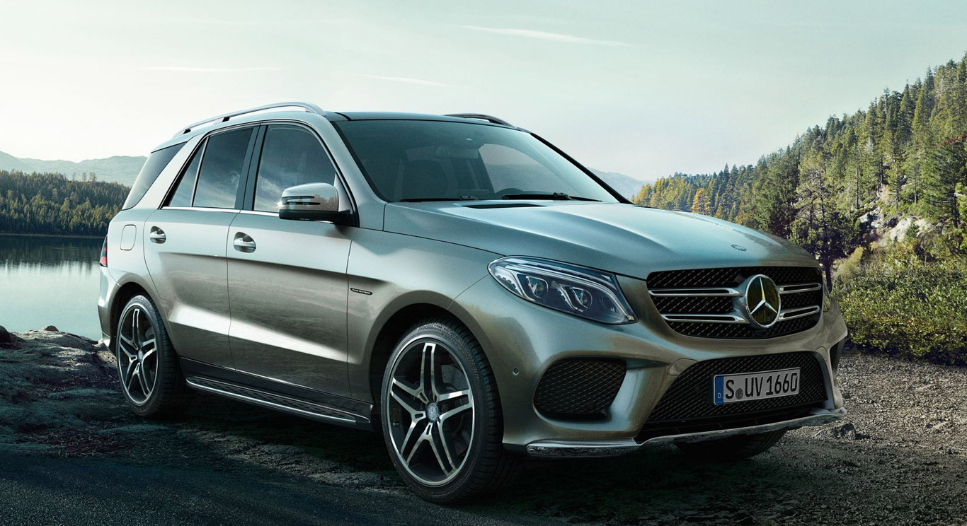 Rent the Mercedes GLE