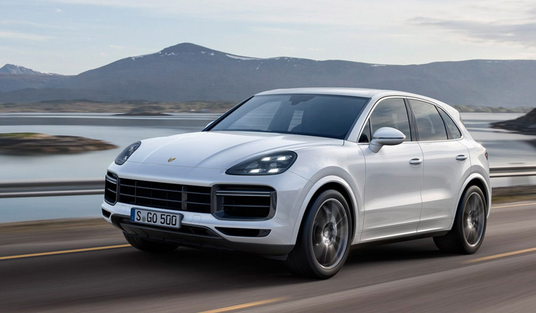 Porsche Cayenne Turbo Hire