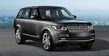 Hire a Range Rover Autobiography in France