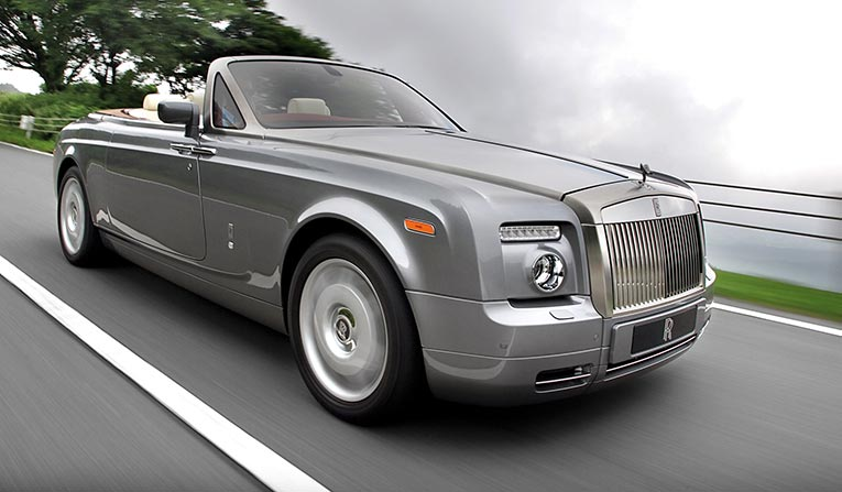 Rolls Royce Phantom Drophead Rental